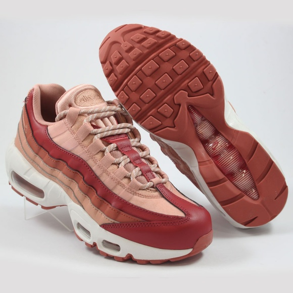 hot sale online bd06f 1f156 Womens Nike Air Max 95 'Dusty Peach' Shoes New NWT